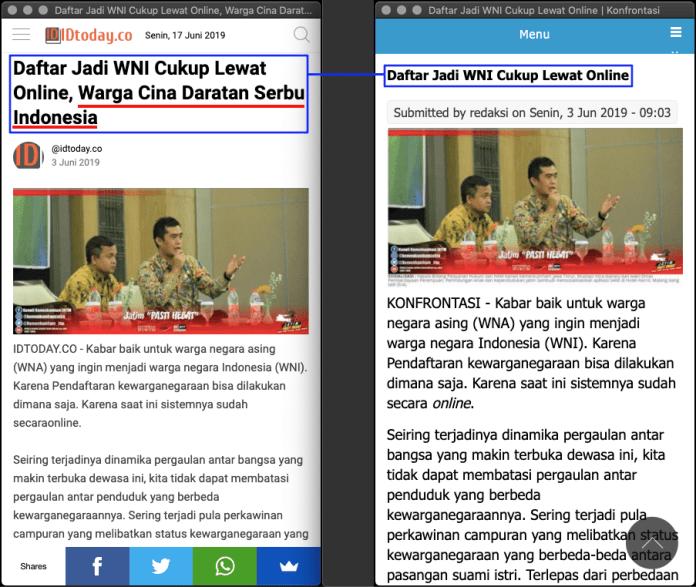 """[SALAH] """"Daftar Jadi WNI Cukup Lewat Online, Warga Cina Daratan Serbu Indonesia"""" - daftar wni 02 - [SALAH] """"Daftar Jadi WNI Cukup Lewat Online, Warga Cina Daratan Serbu Indonesia"""""""