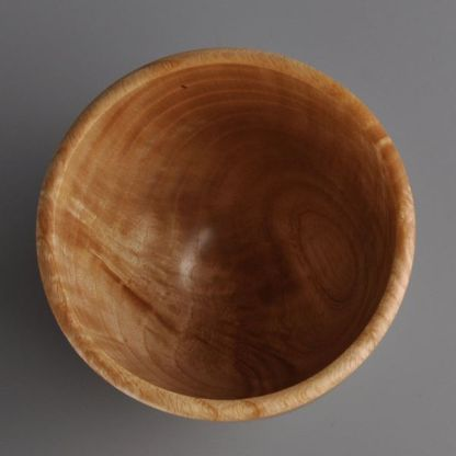 small wooden cup