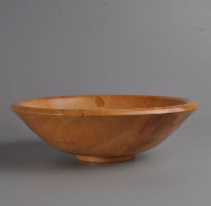 Pear wood bowl
