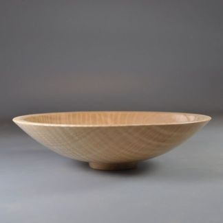 rippled ash bowl