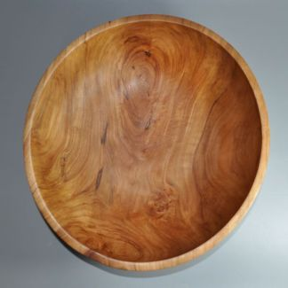 apple wood bowl