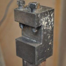 tool holder for homemade ball cutting jig