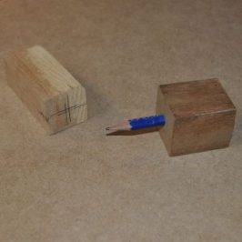 pencil block centre finder