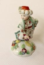 A Small Turk Porcelain Derby figure C.1775