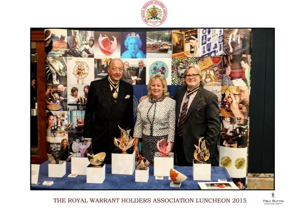 Robin Wodehouse RWHA President, Joey Richardson, Nick Farrow QEST Chairman