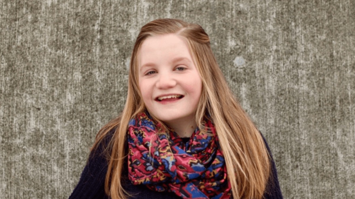 Girl with Turner Syndrome