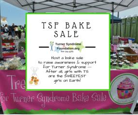 TSF bake sale