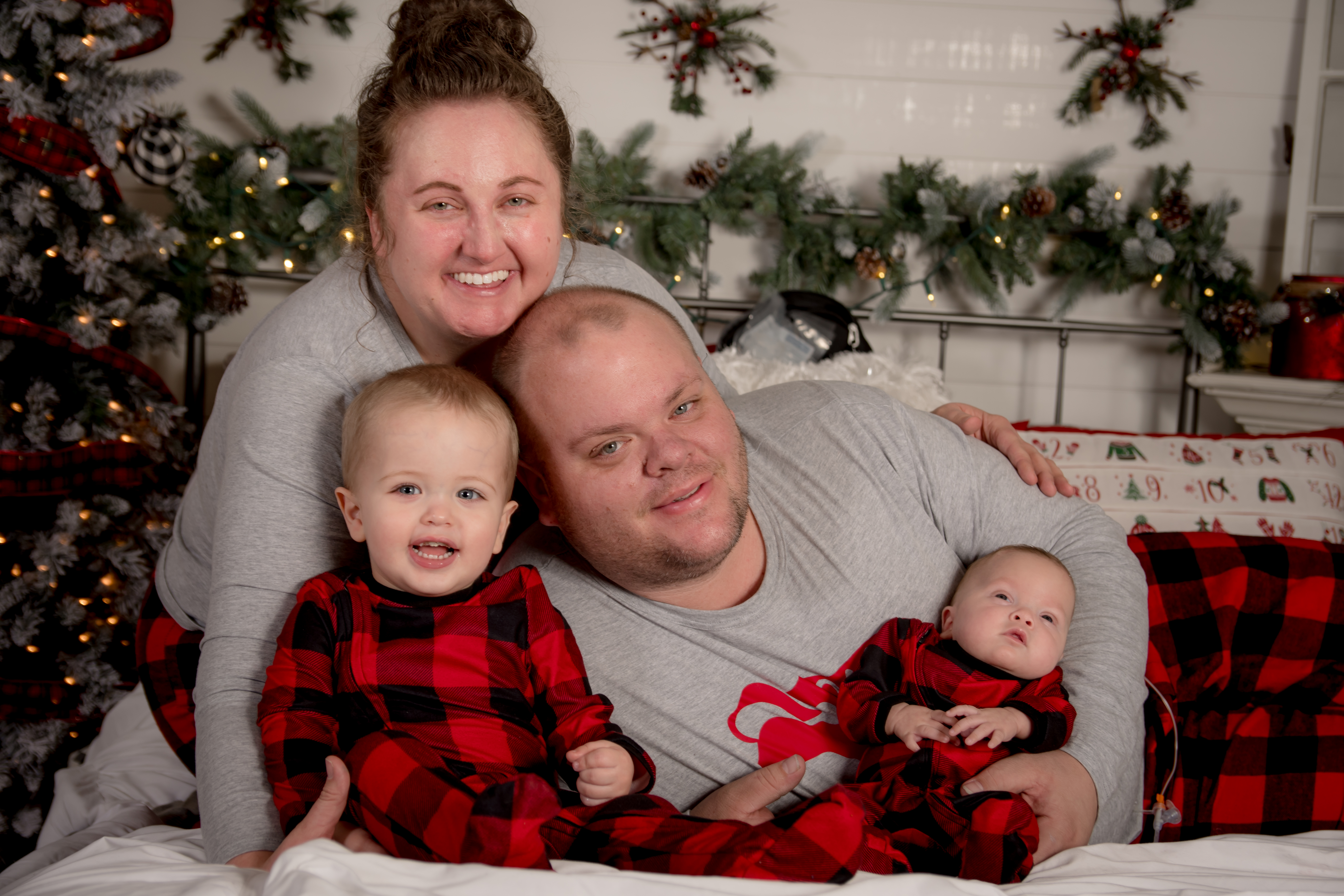 Turner Syndrome woman and family