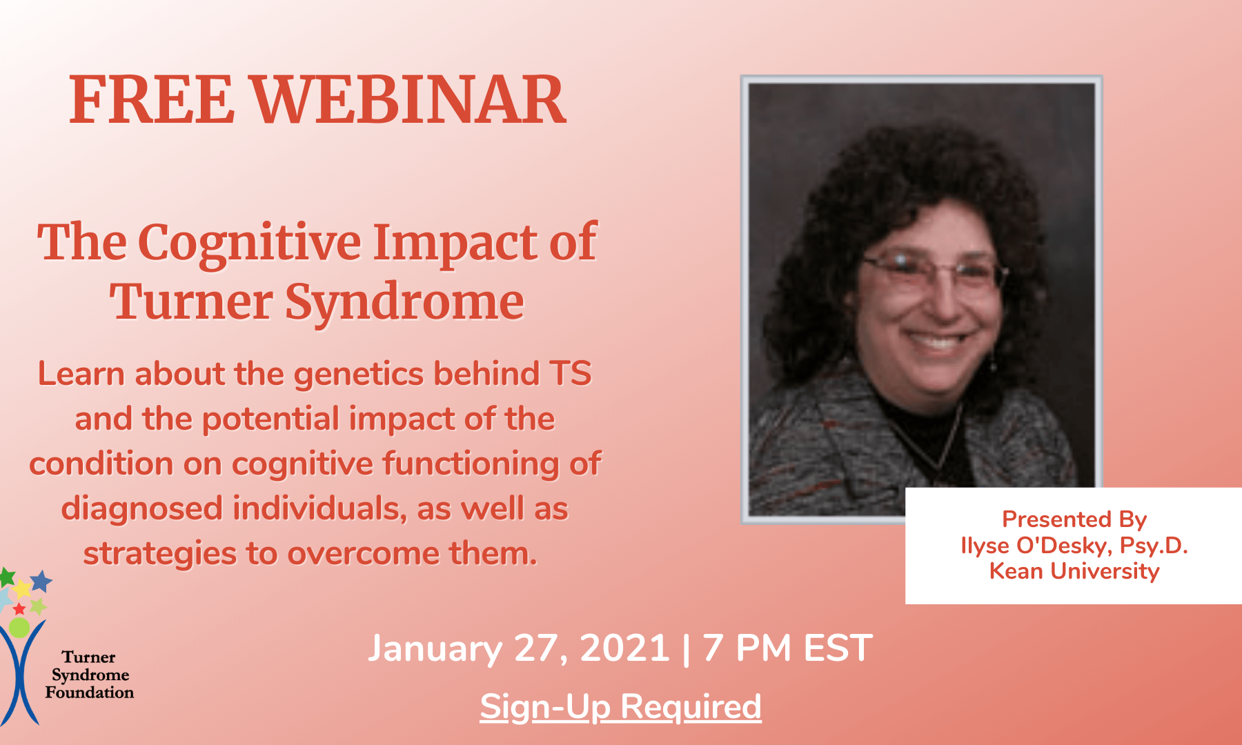 the cognitive impact of TS webinar