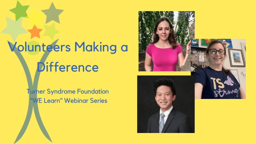 Webinar- volunteers making a difference
