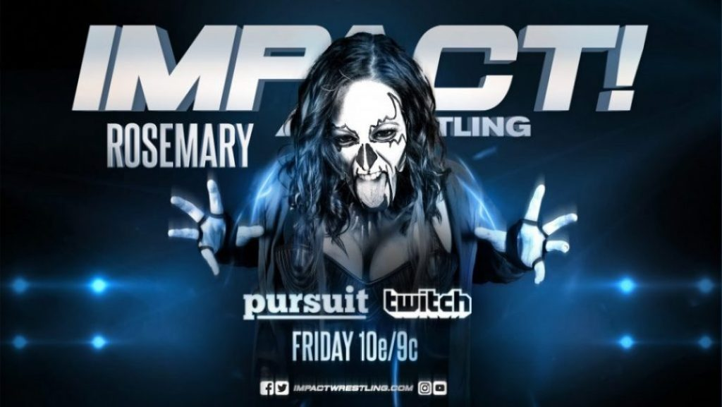 Rosemary renueva con Imapct Wrestling