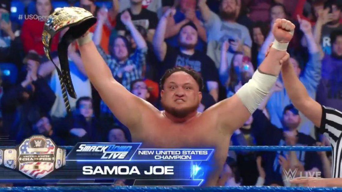 Samoa Joe nuevo campeón de Estados Unidos