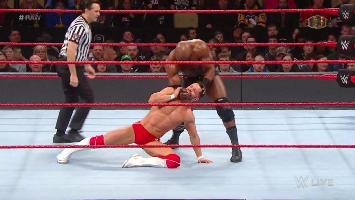 Bobby Lashley nuevo campeón Intercontinental en WWE RAW