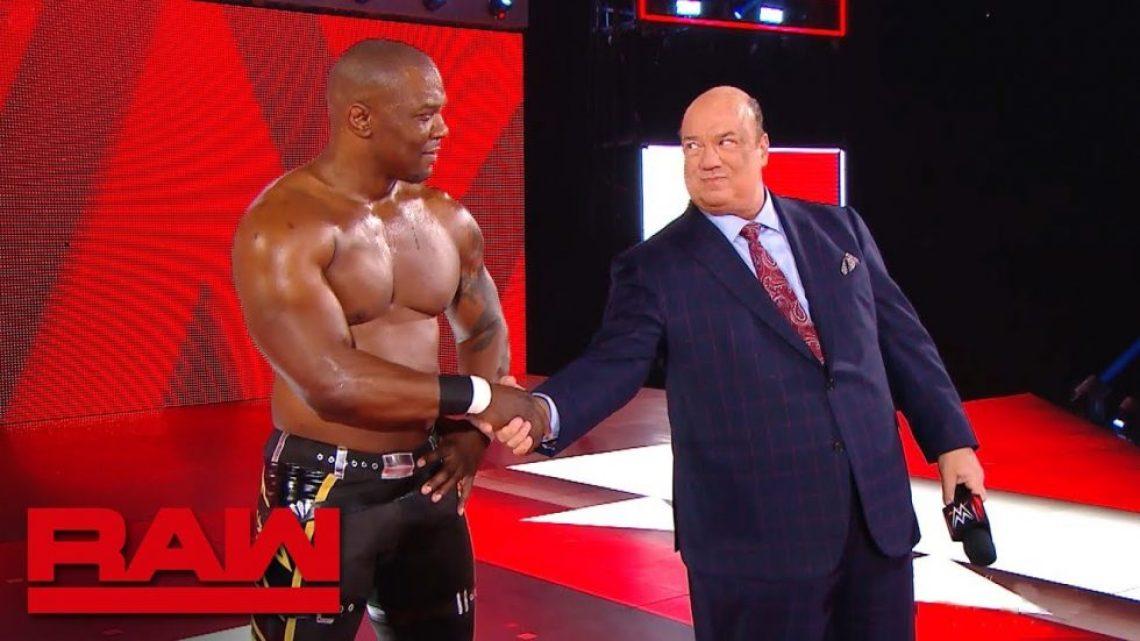 Paul Heyman cuenta una historia sobre Brock Lesnar y Shelton Benjamin