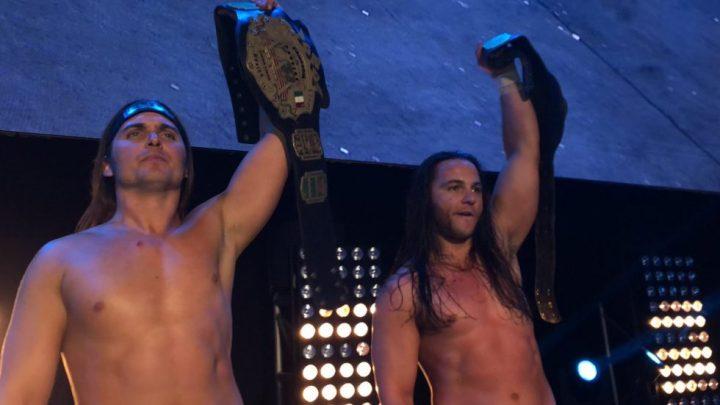The Young Bucks nuevos campeones en parejas de AAA