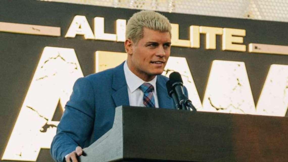 Cody habla de la expectativa que hay en AEW