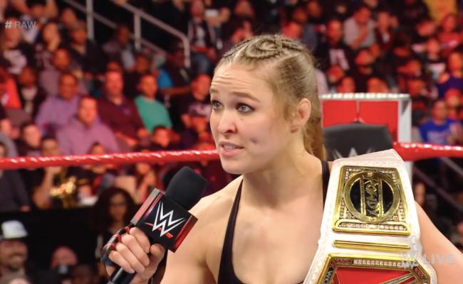 Ronda Rousey dice que dejar WWE no es un problema sino esta contenta
