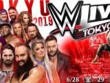 Cartelera de la gira de WWE por Japón