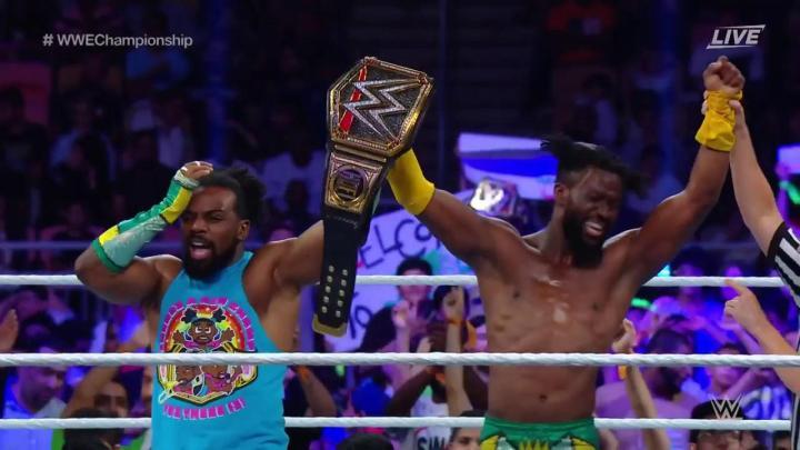 Kofi Kingston retiene el título de WWE en Super Show-Down