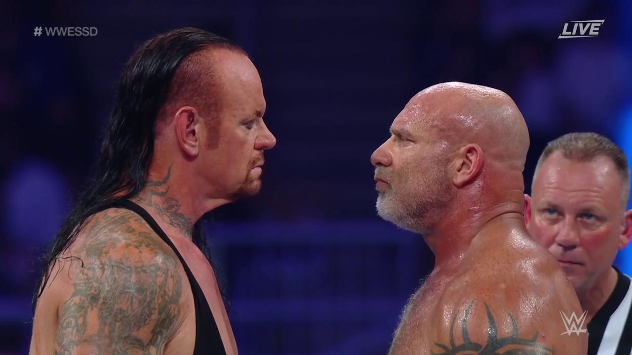 Undertaker WWE Super Show-Down