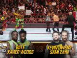 The New Day contra Kevin Owens y Sami Zayn en Stomping Grounds