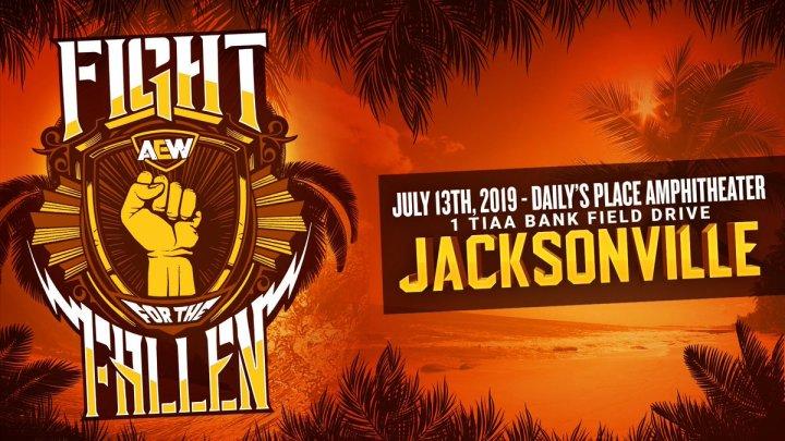 AEW Fight For The Fallen: Resultados en directo