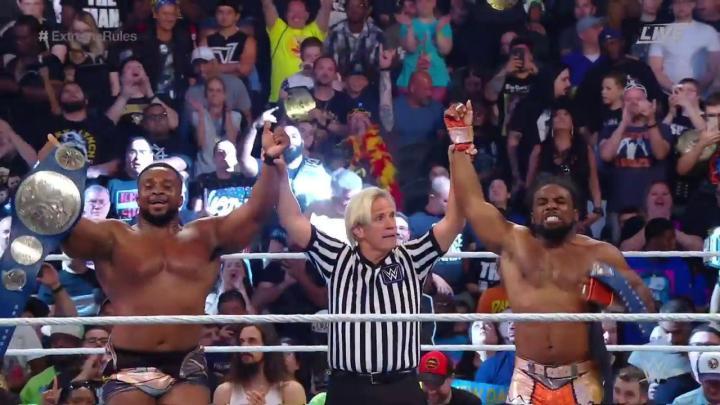 New Day nuevos campeones por pareja de SmackDown Live en WWE Extreme Rules