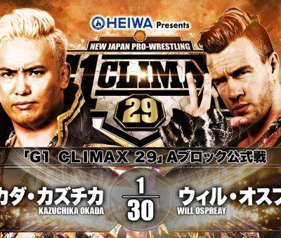 NJPW G1 Climax 29 Día 7