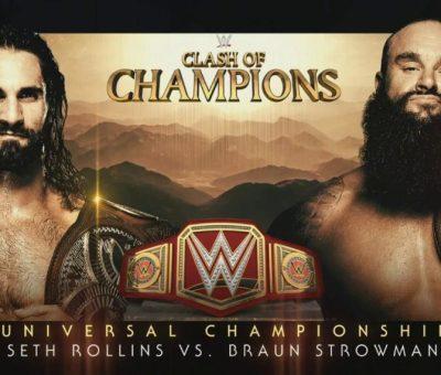 Campeonato Universal: Seth Rolins vs Braun Strowman en Clash Of Champions