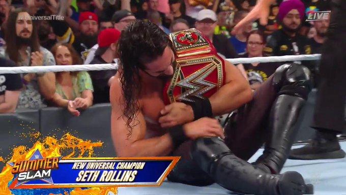 Seth Rollins SummerSlam
