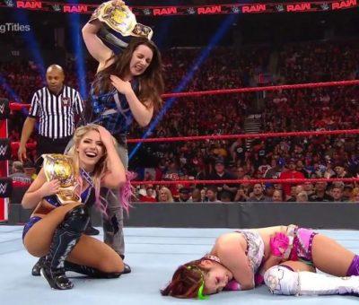 Alexa Bliss Nikki Cross RAW