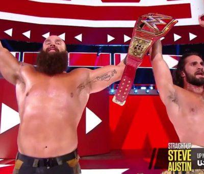 Seth Rollins y Braun Strowman
