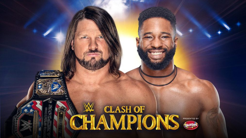 AJ Styles Cedric Alexander Clash of Champions