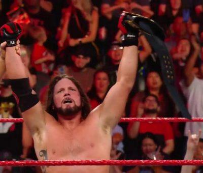 AJ Styles Campeonato Estados Unidos