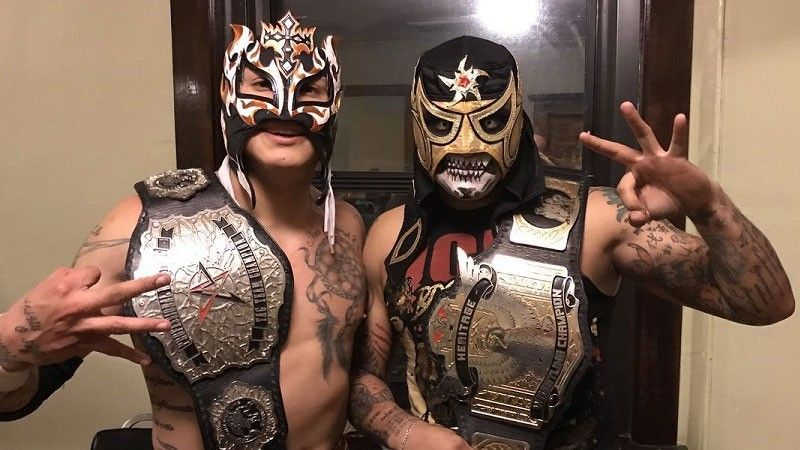 Image result for lucha brothers aew