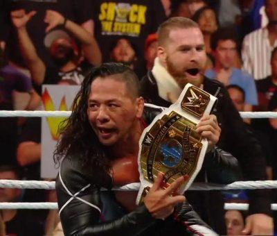 Shinsuke Nakamura Clash Of Champions