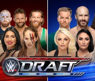 Draft WWE agentes libres