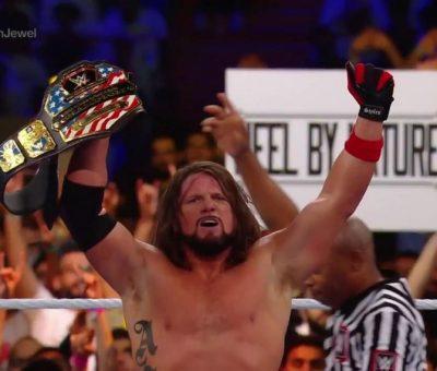 AJ Styles defiende con éxito su campeonato de Estados Unidos en Crown Jewel
