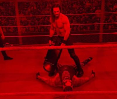 Seth Rollins Hell in a Cell