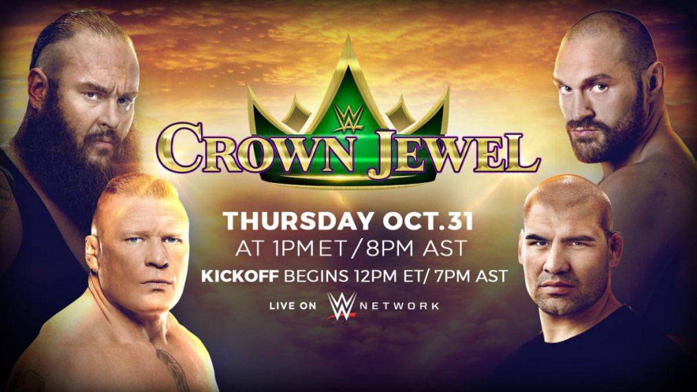 WWE Crown Jewel: El mejor show en Arabia Saudí sin el uso de Leyendas