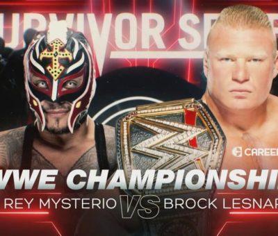 Rey Mysterio Brock Lesnar Survivor Series