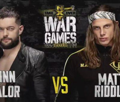 Finn Balor Matt Riddle War Games
