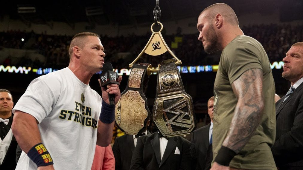 Randy Orton John Cena WrestleMania 36