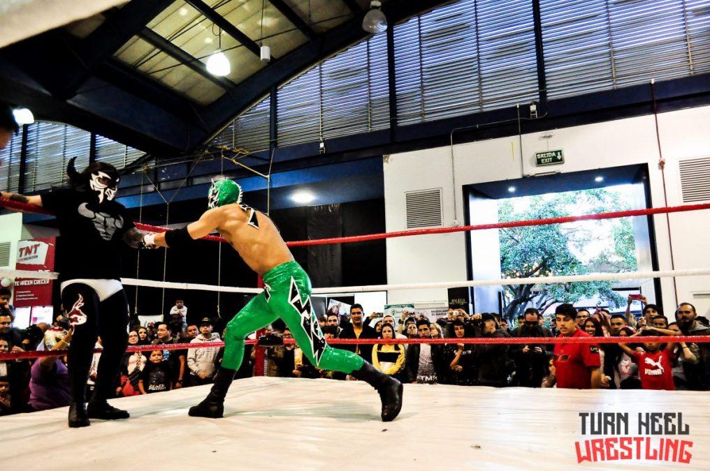 Otra máscara cae en la lucha libre colombiana, ¿el fin del Halcón de Colombia?