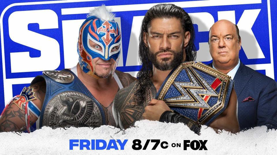 Roman Reigns y Rey Mysterio lucharán en un Hell in a Cell Match en SmackDown por el Campeonato Universal