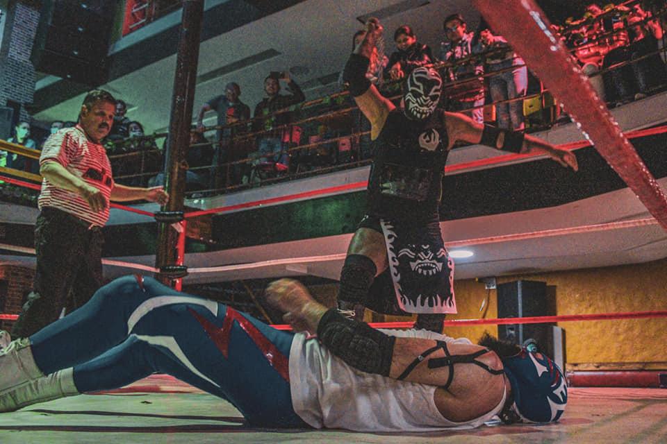 Terry Golden, el mejor luchador de Colombia es campeón nacional de Equipos de Lucha Libre