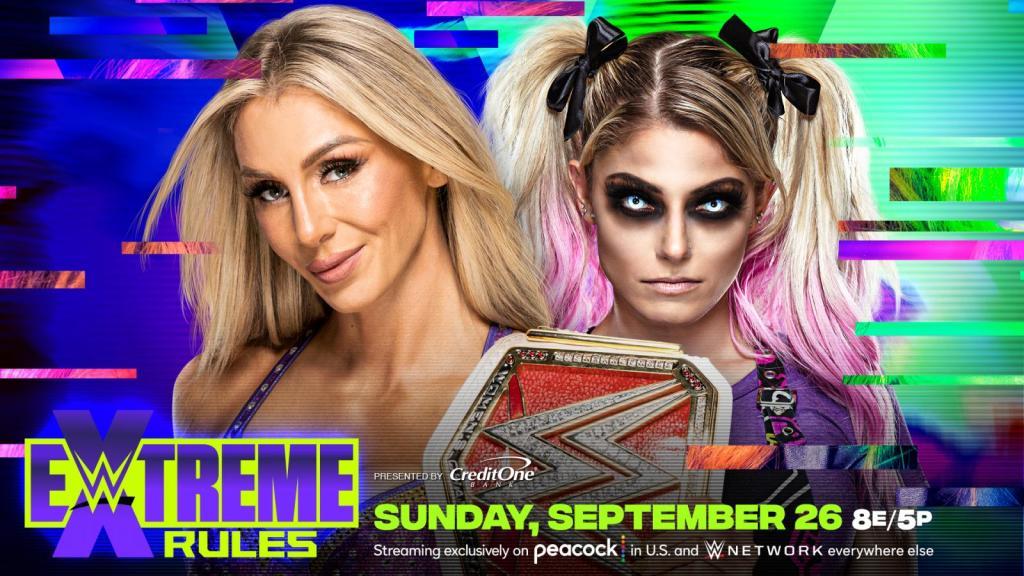 Alexa Bliss se enfrentará a Charlotte Flair en Extreme Rules 2021 por el Campeonato Femenino de RAW