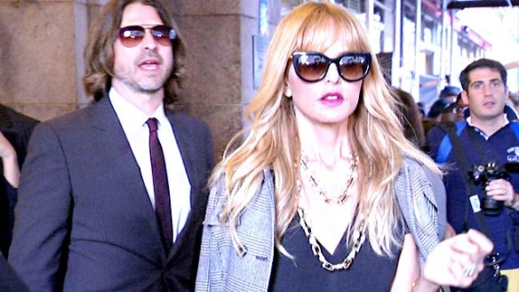 Rachel Zoe with her husband Rodger