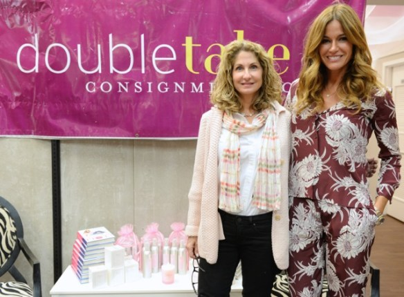 Kelly Killoren Bensimon with Marci Kessler, Owner of DoubleTake Consignment Boutiques
