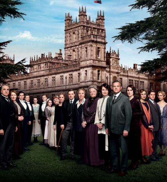 The cast of Downton Abbey, Season Four